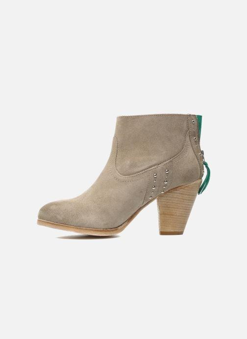 Boots en enkellaarsjes Koah Larissa Grijs voorkant