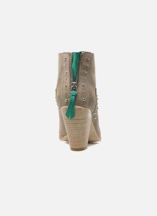 Boots en enkellaarsjes Koah Larissa Grijs rechts