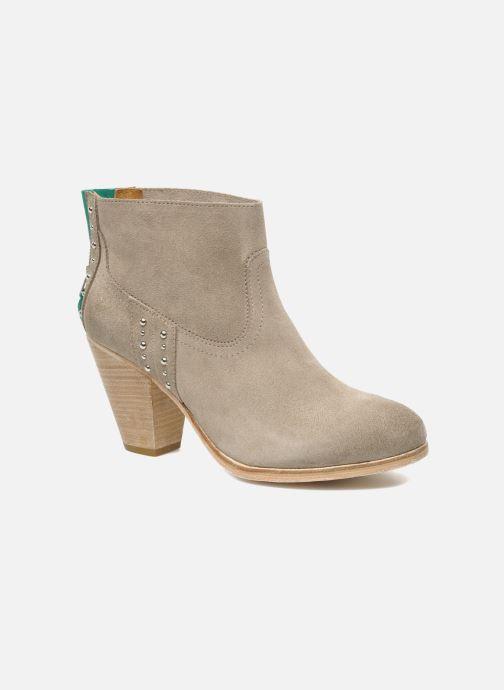 Boots en enkellaarsjes Koah Larissa Grijs detail