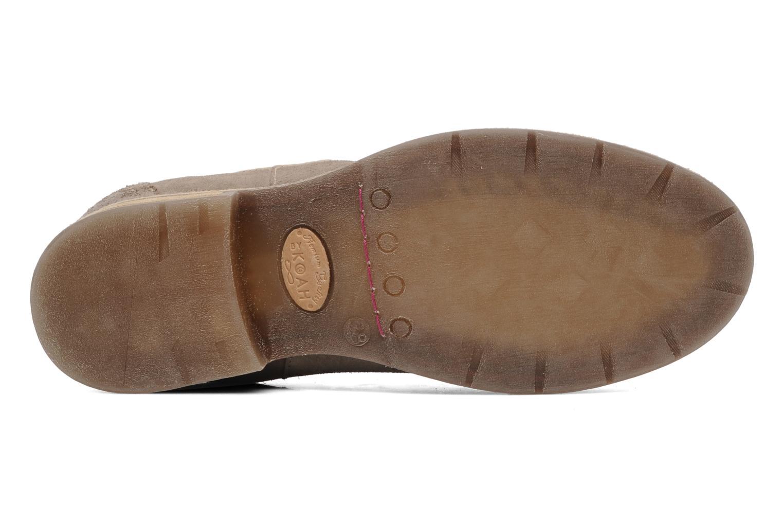 Boots en enkellaarsjes Koah Easton Beige boven