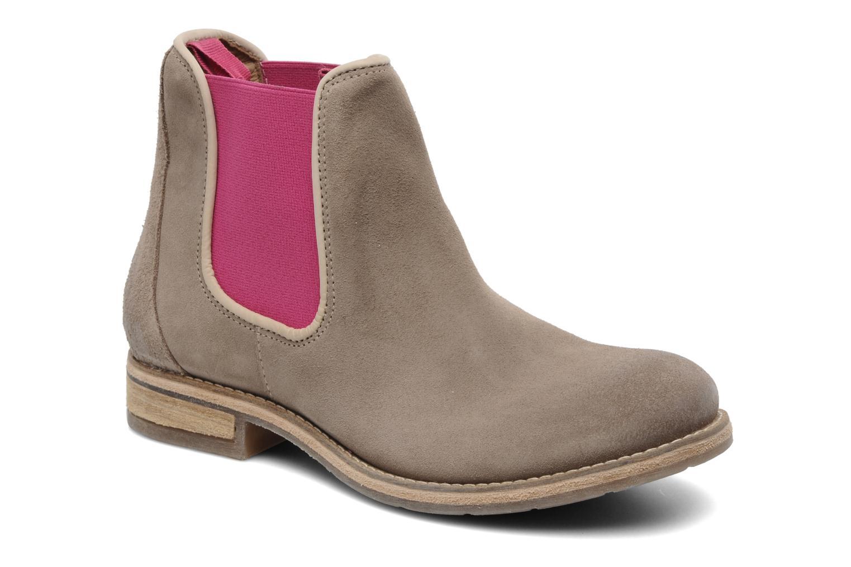 Boots en enkellaarsjes Koah Easton Beige detail