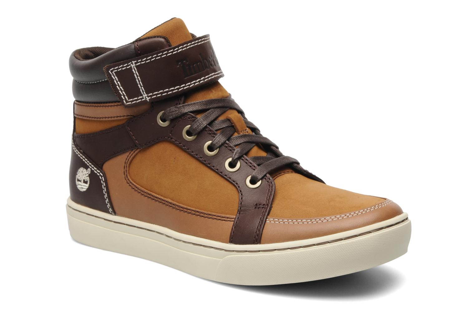 Timberland Cupsole Chukka Hook & Loop (marron) Baskets Chez