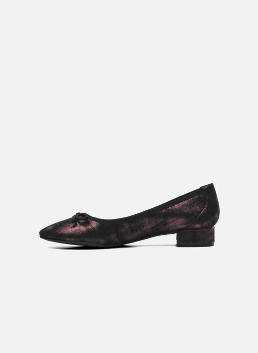 Ballet pumps JB MARTIN Wellem Purple front view