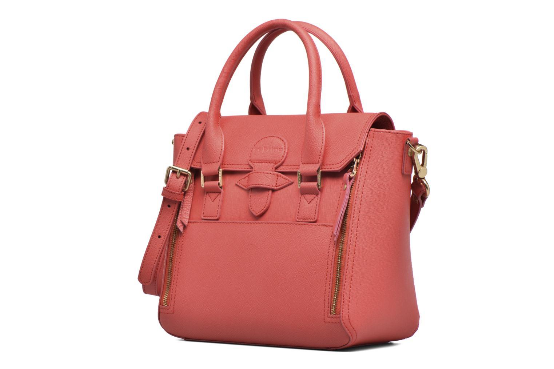 Handtaschen Sabrina Ilona rosa schuhe getragen