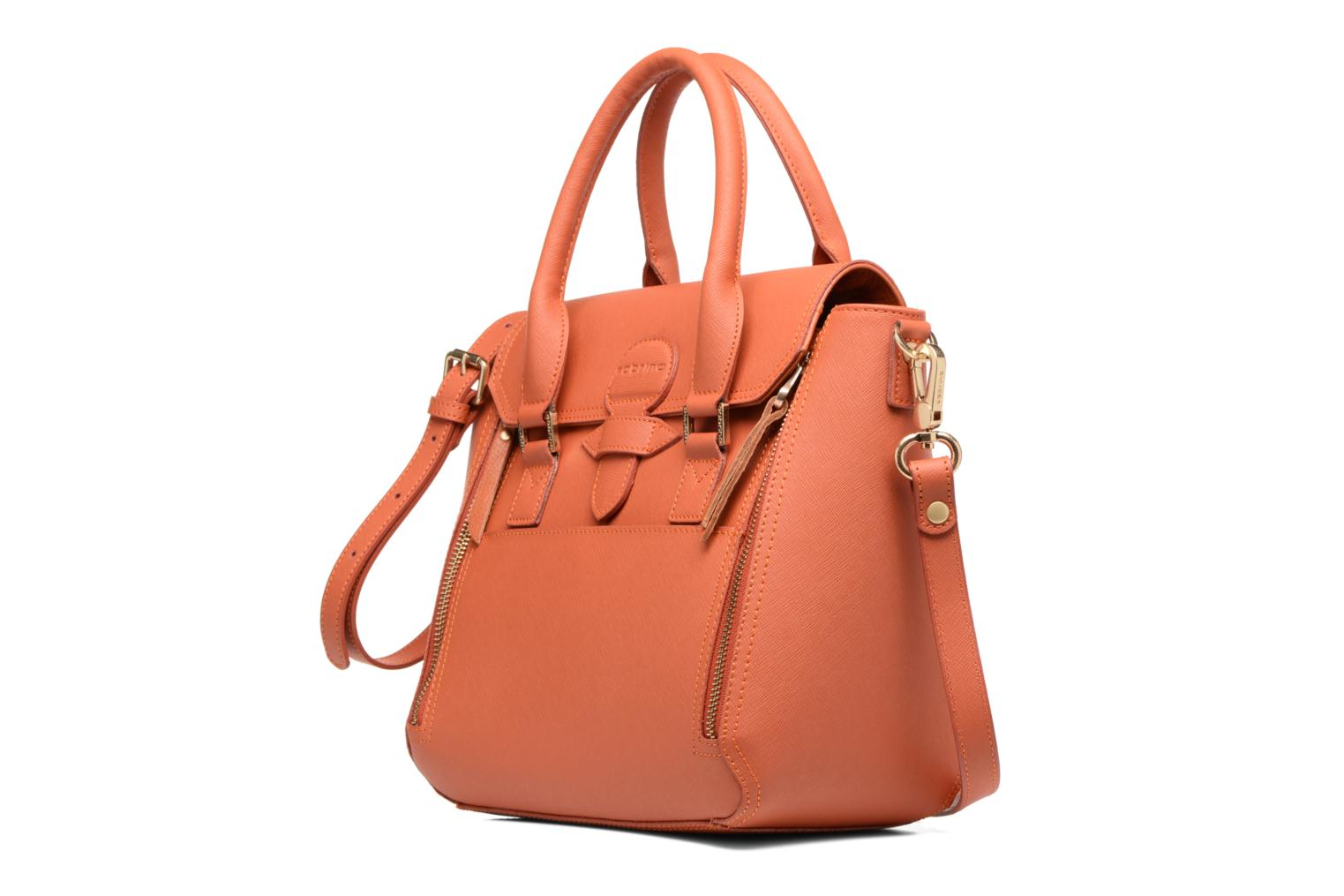 Handbags Sabrina Ilona Orange model view