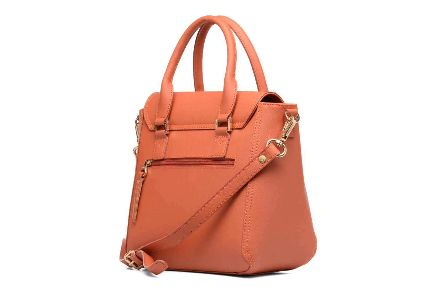 Handbags Sabrina Ilona Orange view from the right