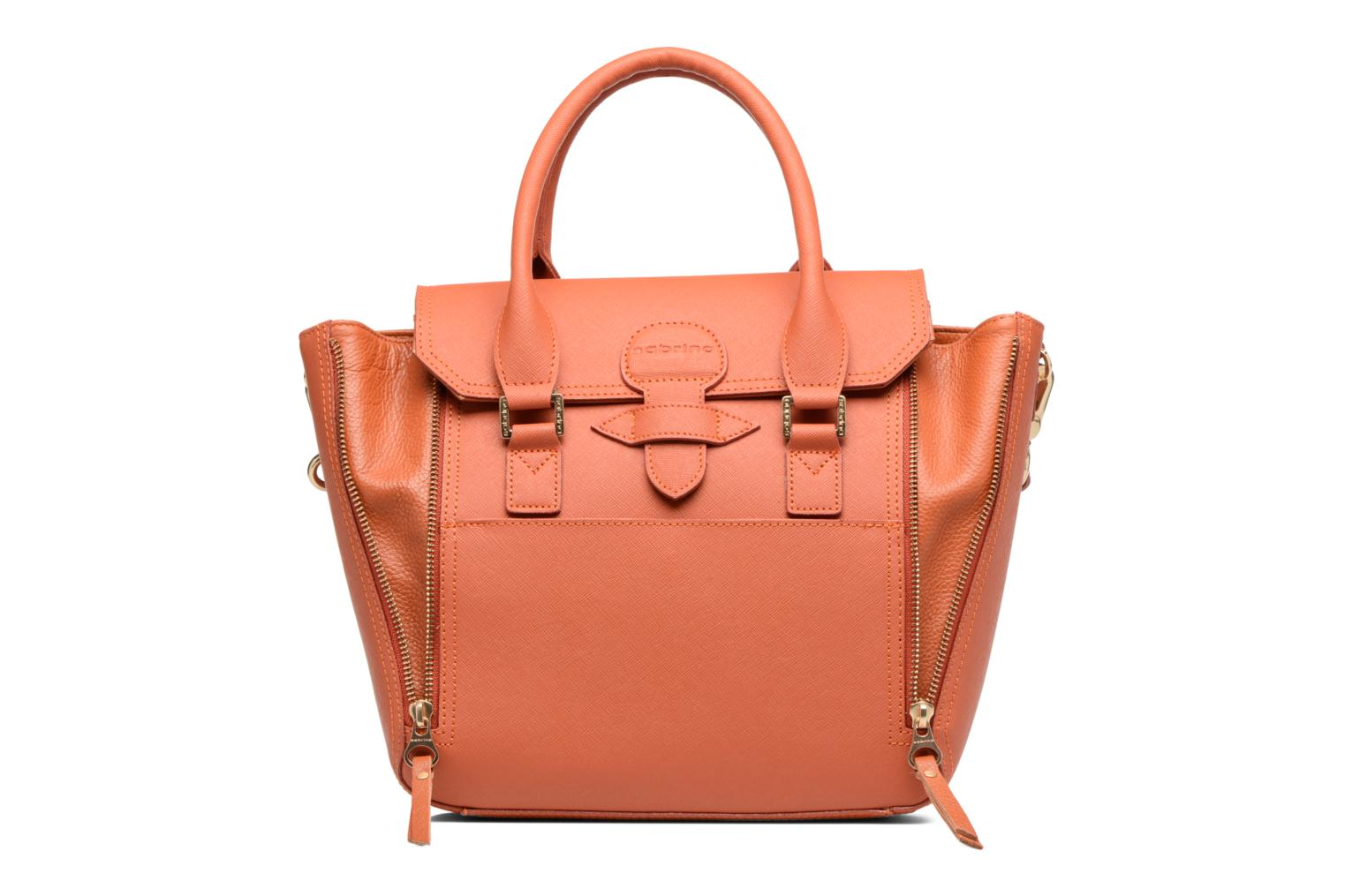 Handbags Sabrina Ilona Orange view from the left
