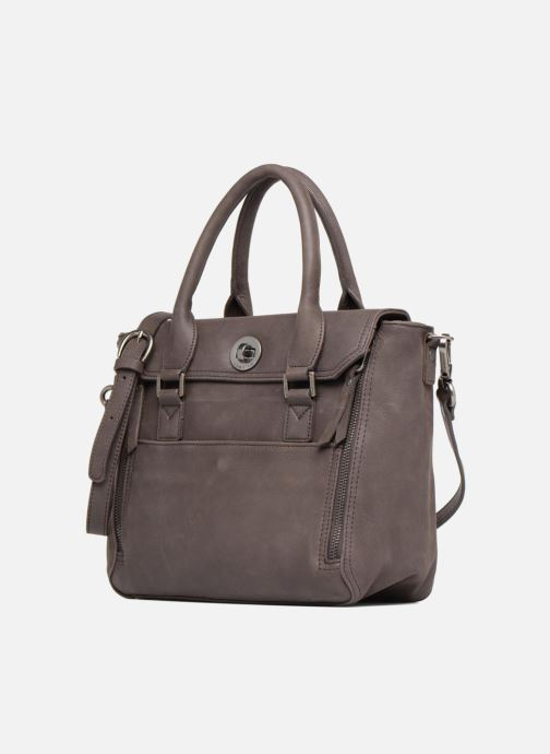 Handtaschen Sabrina Charline braun schuhe getragen