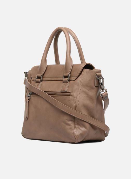 Handtaschen Sabrina Charline braun ansicht von rechts