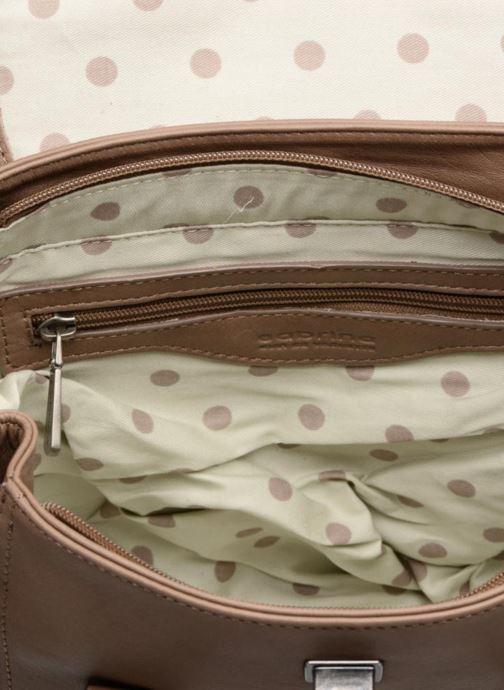 Handtaschen Sabrina Charline braun ansicht von hinten