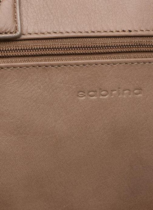 Handtaschen Sabrina Charline braun ansicht von links