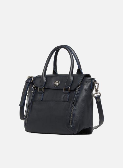 Handtaschen Sabrina Charline blau schuhe getragen