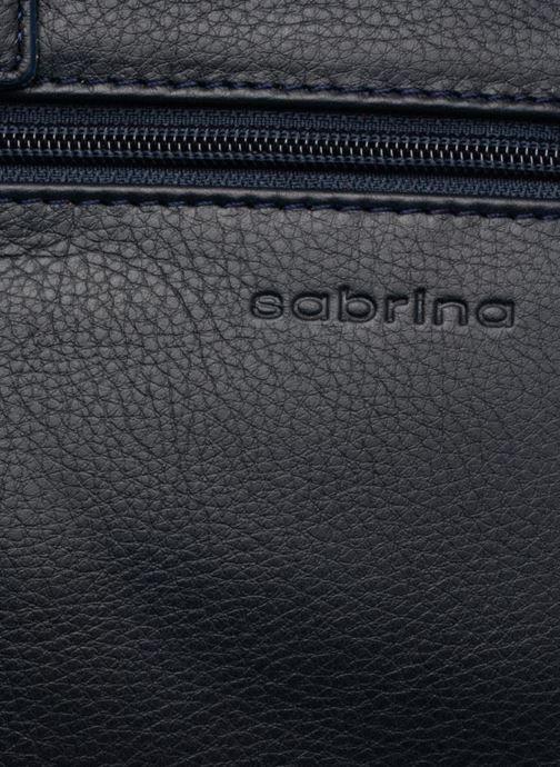 Bolsos de mano Sabrina Charline Azul vista lateral izquierda