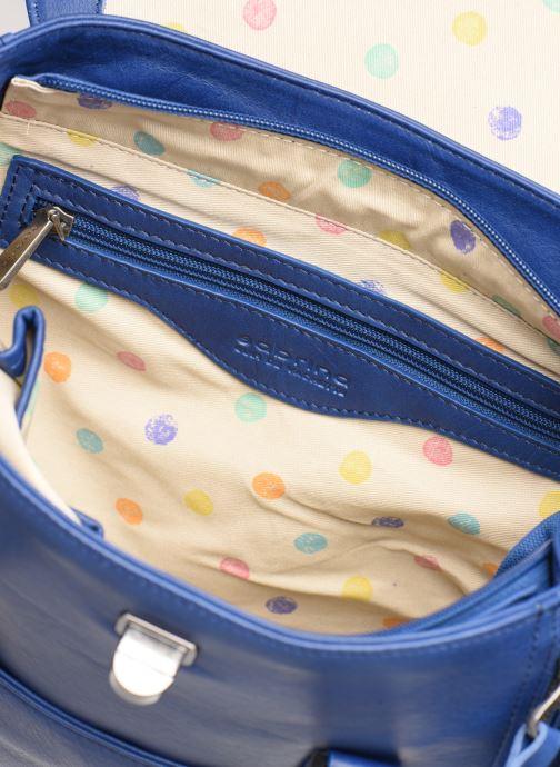 Handtaschen Sabrina Charline blau ansicht von hinten