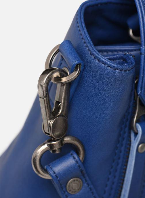 Handtaschen Sabrina Charline blau ansicht von links