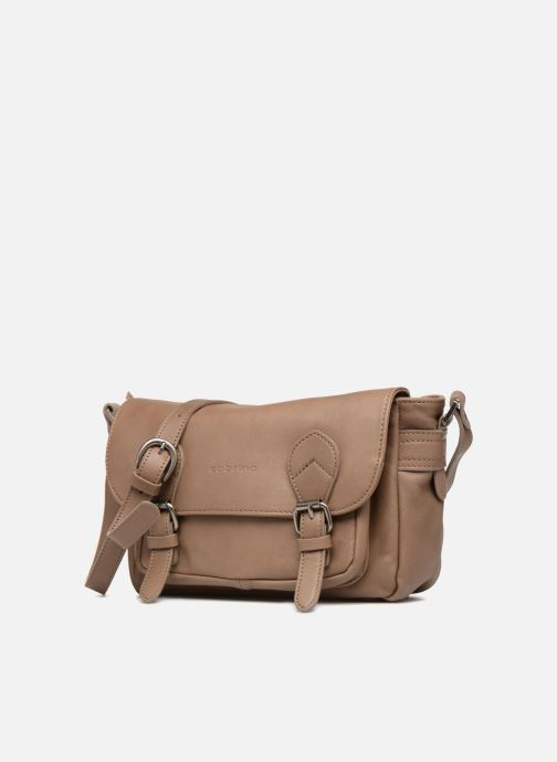 Handtaschen Sabrina Nicky beige schuhe getragen