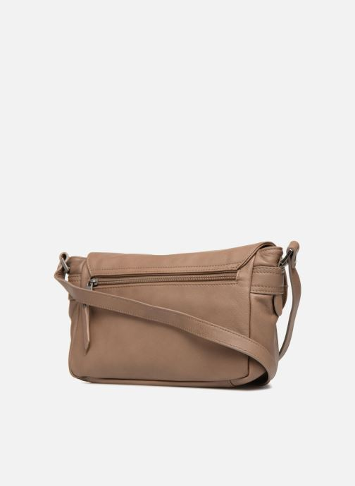 Handbags Sabrina Nicky Beige view from the right