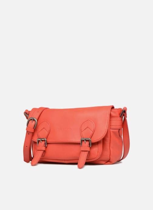 Handtaschen Sabrina Nicky rot schuhe getragen