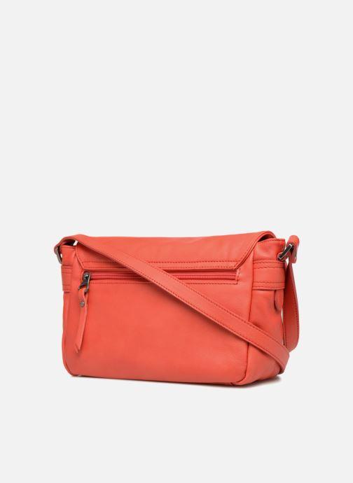 Handtaschen Sabrina Nicky rot ansicht von rechts