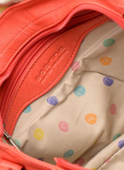 Handtaschen Sabrina Nicky rot ansicht von hinten