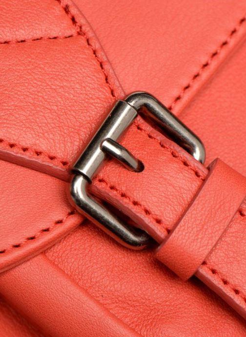 Handtaschen Sabrina Nicky rot ansicht von links