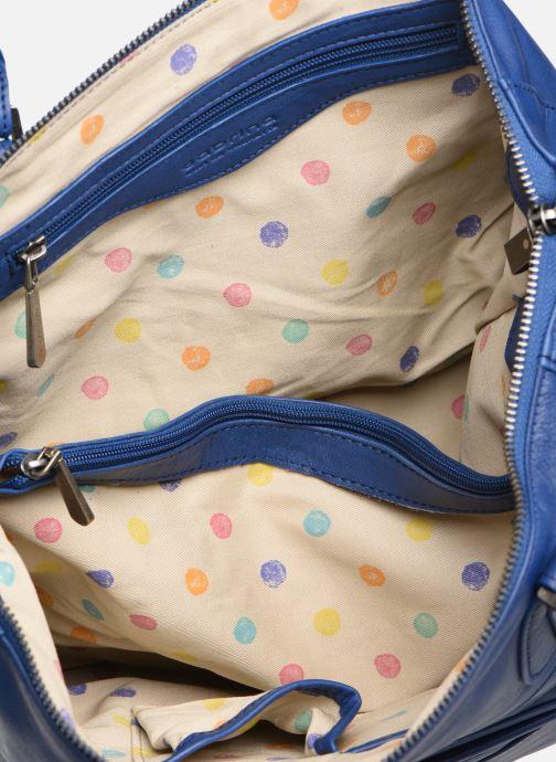 Handtassen Sabrina Camille Blauw achterkant