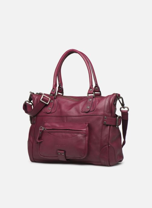 Handbags Sabrina Camille Purple model view