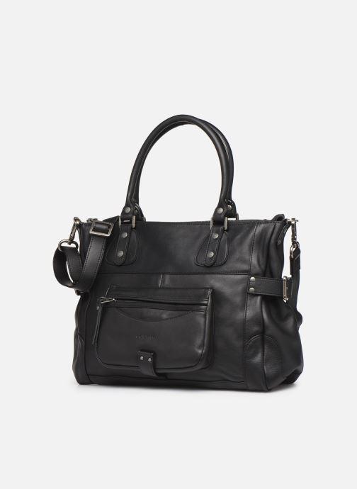 Handtassen Sabrina Camille Zwart model