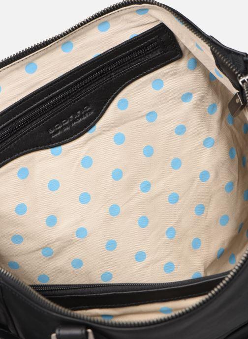 Handtassen Sabrina Camille Zwart achterkant