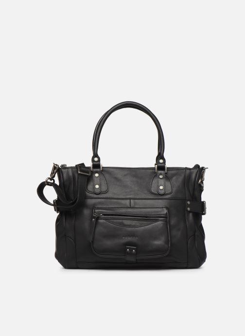 Handtassen Sabrina Camille Zwart detail