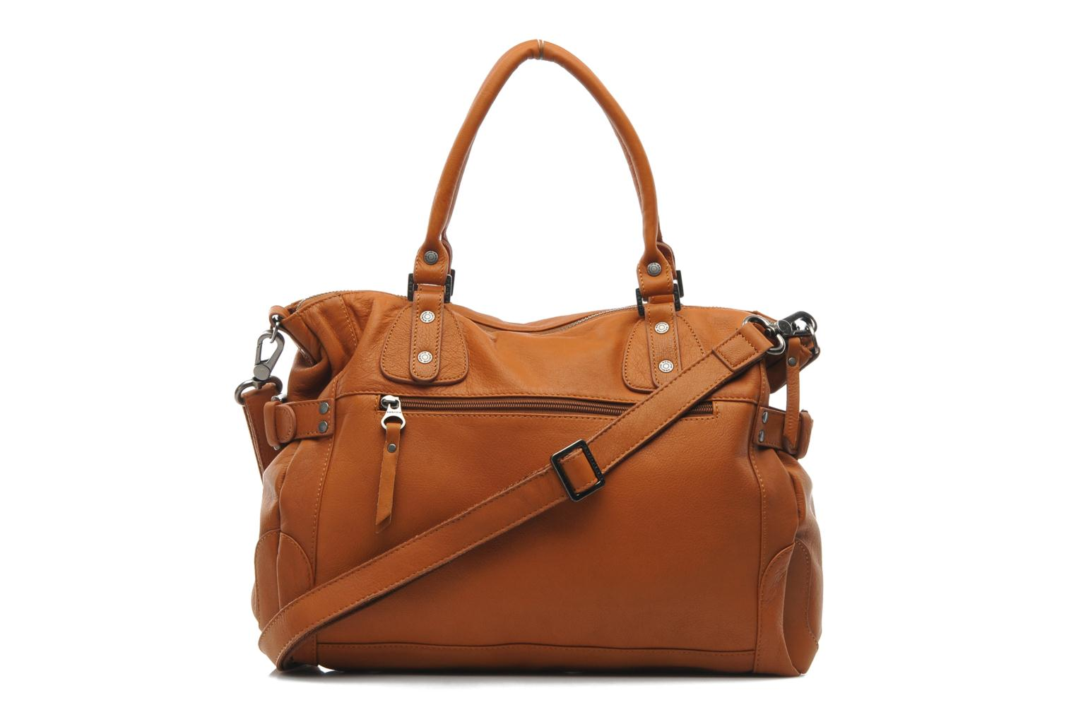 Handbags Sabrina Camille Brown front view