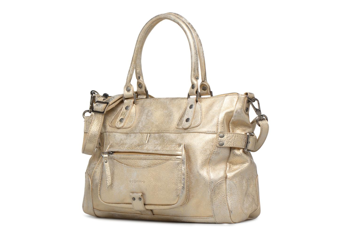 Handbags Sabrina Camille Bronze and Gold model view