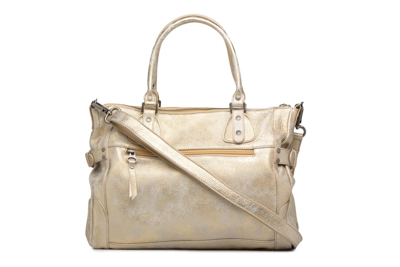 Handbags Sabrina Camille Bronze and Gold front view