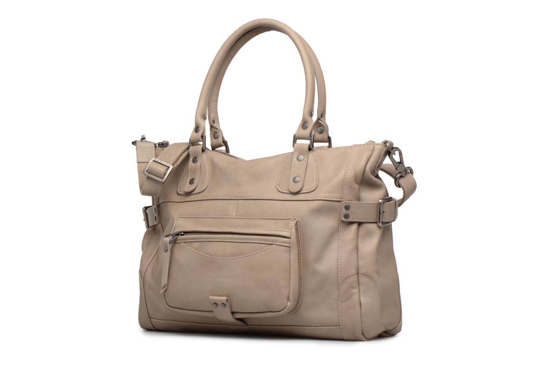 Handtaschen Sabrina Camille beige schuhe getragen