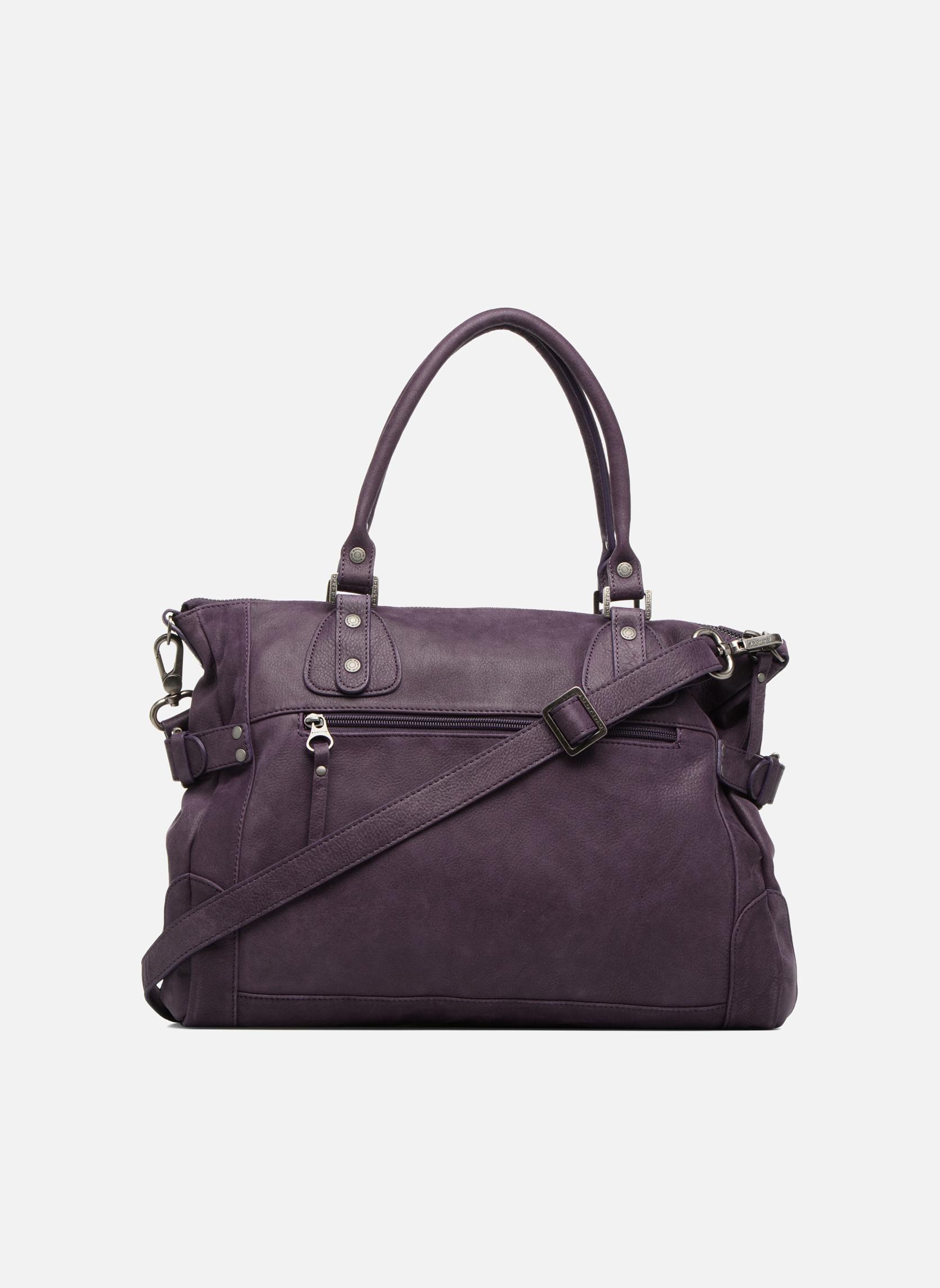 Handtaschen Sabrina Camille weinrot ansicht von vorne