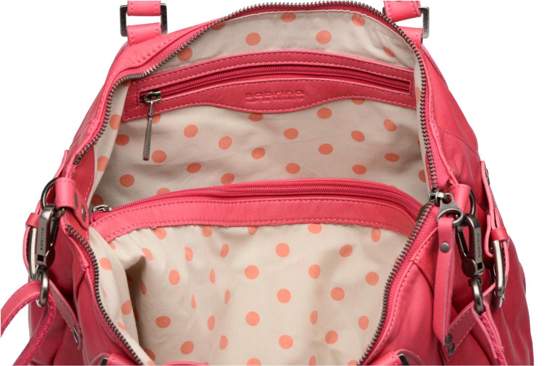 Handtassen Sabrina Camille Roze achterkant