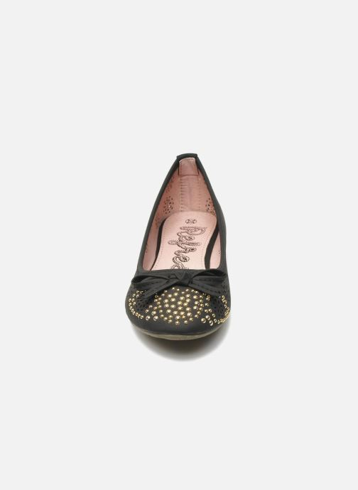 Ballerines Refresh Béline Noir vue portées chaussures