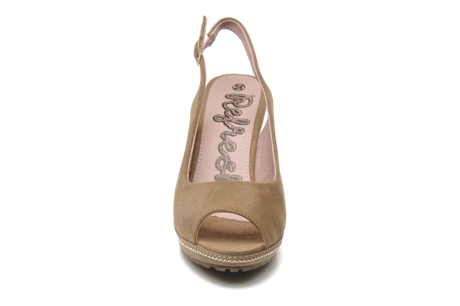 Sandals Refresh Behnam Beige model view