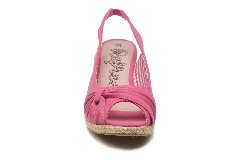 Sandales et nu-pieds Refresh Britt Rose vue portées chaussures