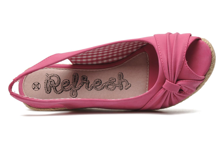 Sandales et nu-pieds Refresh Britt Rose vue gauche