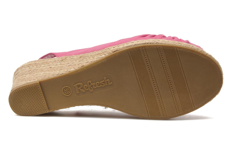 Sandales et nu-pieds Refresh Britt Rose vue haut