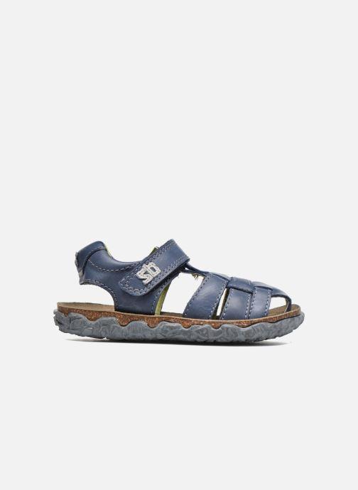 Sandales et nu-pieds Stones and Bones NATAN Bleu vue derrière