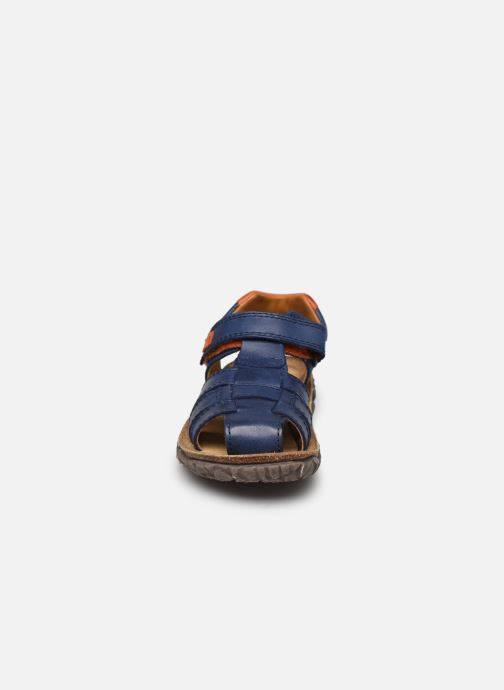 Sandalen Stones and Bones NATAN blau schuhe getragen