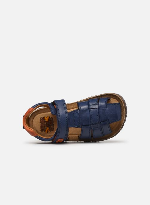 Sandali e scarpe aperte Stones and Bones NATAN Azzurro immagine sinistra