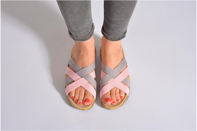 Wedges Crocs Crocs Edie Stretch Sandal W Roze onder