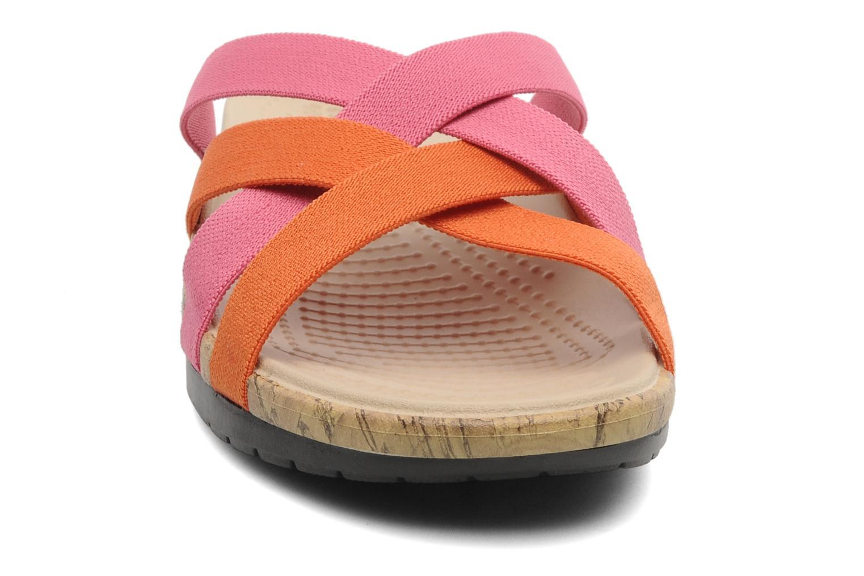 Wedges Crocs Crocs Edie Stretch Sandal W Roze model