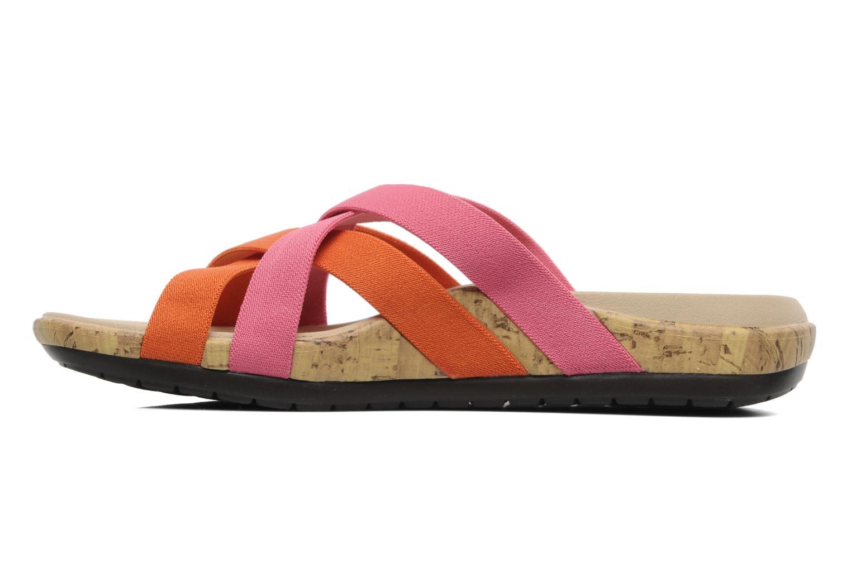 Wedges Crocs Crocs Edie Stretch Sandal W Roze voorkant