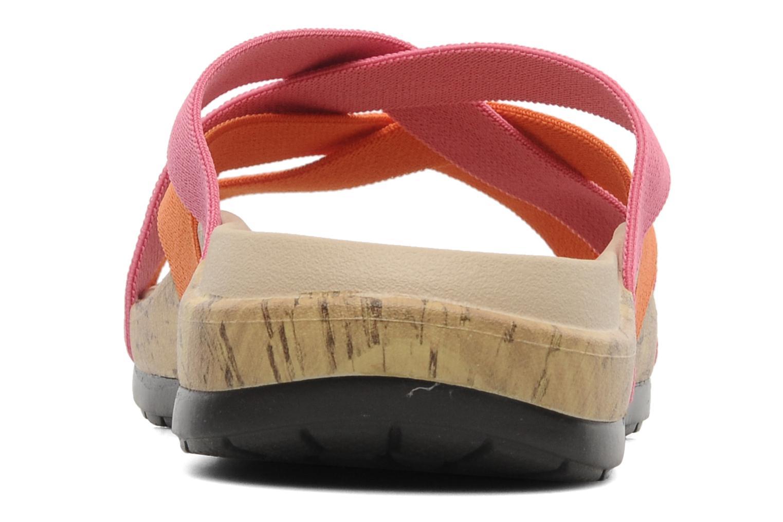 Wedges Crocs Crocs Edie Stretch Sandal W Roze rechts