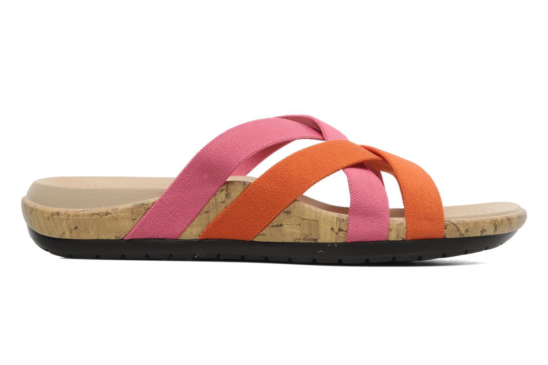 Wedges Crocs Crocs Edie Stretch Sandal W Roze achterkant