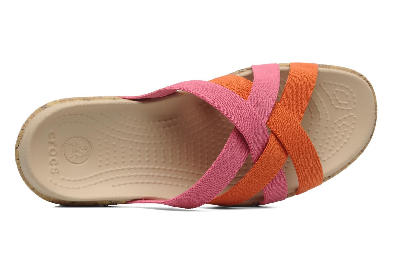 Wedges Crocs Crocs Edie Stretch Sandal W Roze links